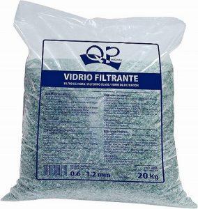saco de vidrio filtrante 20kg