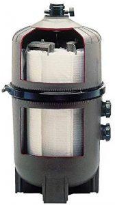 filtro para piscina de diatomeas